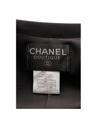 Chanel Black Viscose Trousers