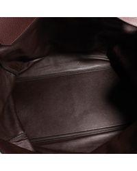 Borsa da viaggio in pelle marrone Haut à Courroies di Hermès in Multicolor