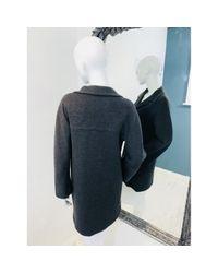 Cappotto in lana grigio di Marni in Gray