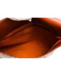 Borsa a mano in tela marrone Salsa di Louis Vuitton in Brown