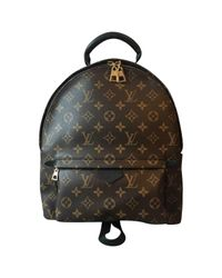 Louis Vuitton Brown Palm Springs Cloth Backpack