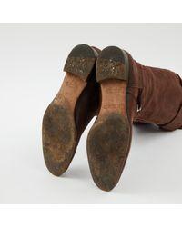 Stivali in scamosciato marrone Jumping di Hermès in Brown