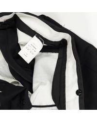Pantaloni in lana nero di Rick Owens in Black da Uomo
