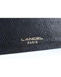 Pochette in pelle nero di Lancel in Black