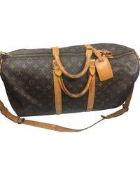 Bolso de viaje Keepall de Lona Louis Vuitton de hombre de color Multicolor