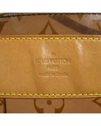 Louis Vuitton Brown Shopper