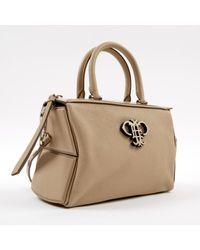 Bolsa de mano en cuero beige \N Emilio Pucci de color Natural