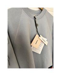Maglione. Gilet in cotone blu di Vilshenko in Blue