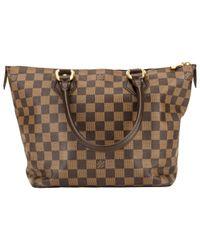 Sac à main en Toile Louis Vuitton en coloris Brown