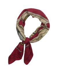 Hermès Vintage Carré 70 Pink Silk Silk Handkerchief