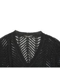 Isabel Marant Black Linen Knitwear