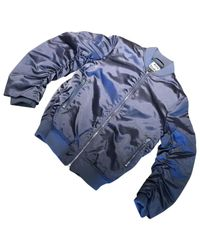 Acne Blue Pre-owned Other Synthetic Jackets