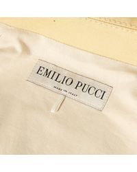 Emilio Pucci \n Yellow Cotton Jacket