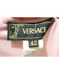 Versace Multicolor Mini Kleid