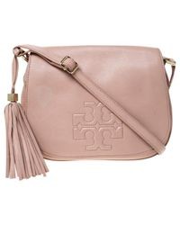 Tory Burch Pink Leder Handtaschen