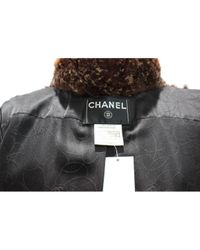 Chanel Brown Kaninchen Jacken