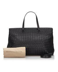 Bottega Veneta Black Aligator Aktentaschen