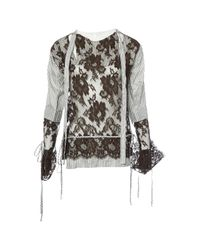 Vivienne Westwood Brown Lace Blouse