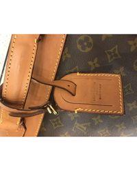 Louis Vuitton Leinen Reise Tasche in Brown für Herren