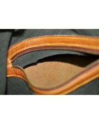 Louis Vuitton Brown Noé Leder Handtaschen