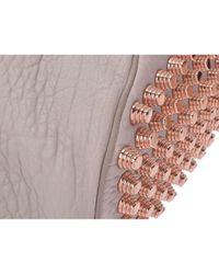 Alexander Wang Gray Diego Leder Handtaschen
