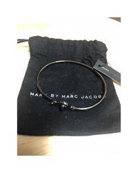 Marc By Marc Jacobs Black Metal Bracelet