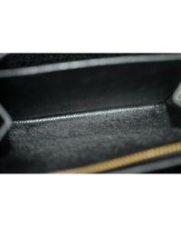 Portafoglio in pelle nero di Louis Vuitton in Black