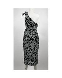 Diane von Furstenberg Black Viscose Dress