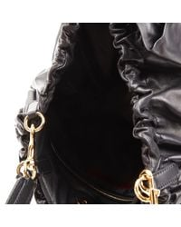Valentino Black Leder Handtaschen