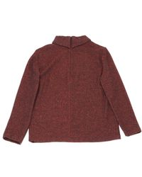 Pull-over en laine A.P.C. en coloris Red