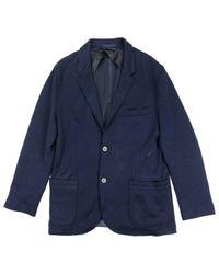 Veste en cachemire Lanvin pour homme en coloris Blue