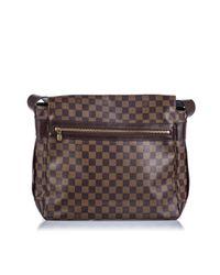 Bolsos en lona marrón Abbesses Messenger Louis Vuitton de hombre de color Brown