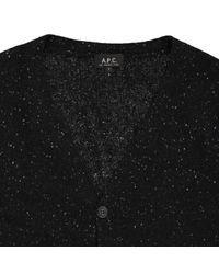 A.P.C. Gray Grey Wool Knitwear & Sweatshirts for men