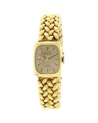 Tiffany & Co Metallic Gelbgold Uhren