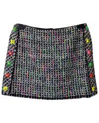 Mini jupe en laine Marc Jacobs en coloris Black