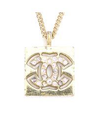 Chanel Metallic Colliers
