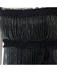 Abiti in seta nero di Jenny Packham in Black