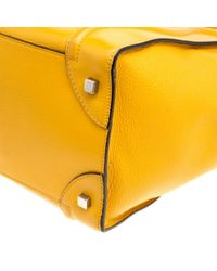 Céline Yellow Luggage Leder Handtaschen
