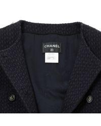 Chanel Black Wool Coat
