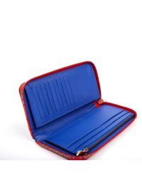 Louis Vuitton Brown Clemence Leinen portemonnaies