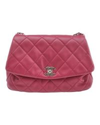 Chanel Red Leder Handtaschen