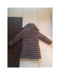 Manteau Moncler en coloris Brown