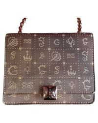 Lancel Natural Daligramme Leder Handtaschen