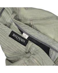 Jean slim Balmain en coloris Natural