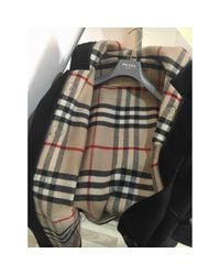 Burberry Black Pre-owned Coat