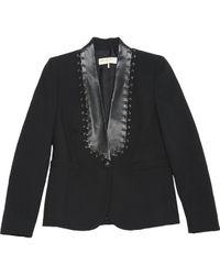 Emilio Pucci \n Black Wool Jacket