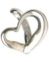 Tiffany & Co Metallic Elsa Peretti Silver Ring