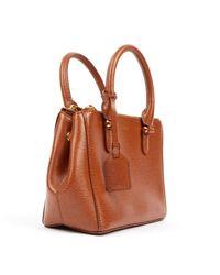 Ralph Lauren Collection Brown Leder Handtaschen