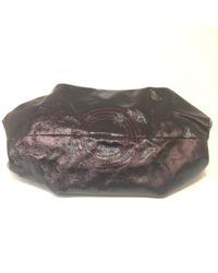 Loewe Multicolor Burgundy Patent Leather