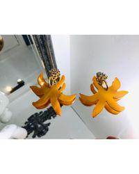 Pendientes Marni de color Orange